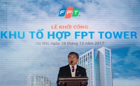 FPT khởi công trung tâm công nghệ quy mô 100.000 m2