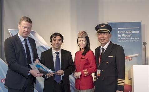 Vietjet nhận máy bay A321neo đầu tiên