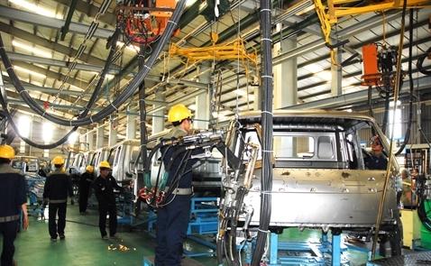 PMI sản xuất của Việt Nam trong tháng 12 tăng trở lại