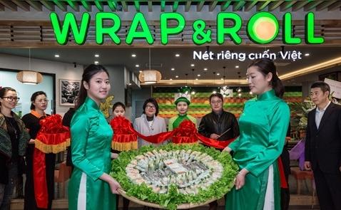 Wrap & Roll khai trương cửa hàng  thứ hai tại Thượng Hải