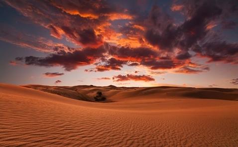 10 sa mạc đẹp nhất thế giới