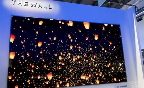 Samsung trình diễn TV môđun lắp ghép đầu tiên trên thế giới