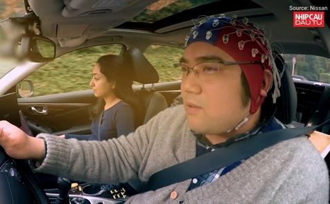 Nissan sắp giới thiệu công nghệ kết nối não người và xe tại CES 2018