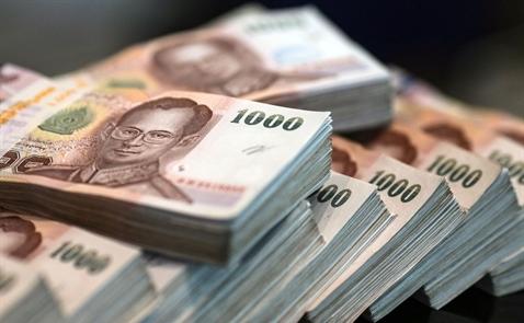 Thái Lan lo đồng baht tăng giá