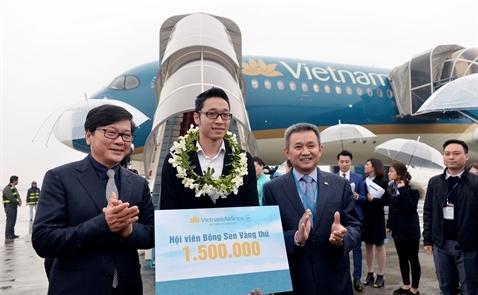 Doanh thu Vietnam Airlines năm 2017 ước đạt gần 4 tỉ USD