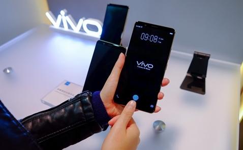 Vivo giới thiệu smartphone có cảm biến vân tay trên màn hình