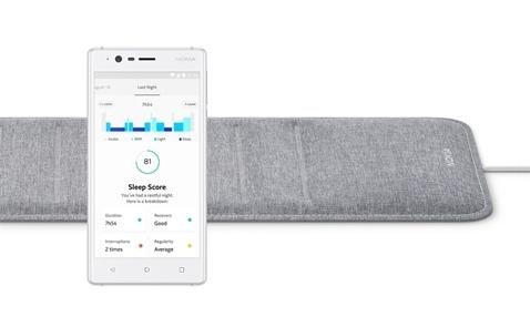 Nokia giới thiệu miếng lót nệm đo giấc ngủ thông minh Nokia Sleep