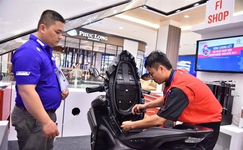 Năm 2017, doanh số xe tay ga Yamaha tăng 15%