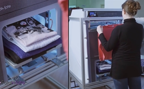 Robot gấp quần áo FoldiMate