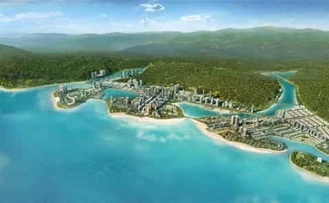 Halong Marina thành phố sôi động bên bờ Vịnh