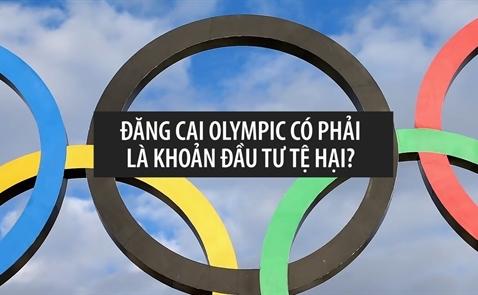 Đăng cai Olympic có phải là những khoản đầu tư tệ hại?