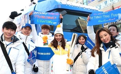Samsung ra mắt phiên bản Galaxy Note8 Olympic