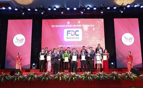 F.D.C lọt vào top 500 doanh nghiệp tư nhân lớn nhất Việt Nam