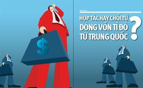 Hợp tác hay chối từ dòng vốn tỉ đô từ Trung Quốc?