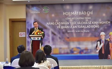 NS BlueScope Việt Nam: Hợp tác về an toàn lao động trong các doanh nghiệp