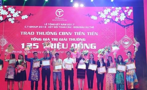 Tập đoàn C.T Group đón nhận Huân chương Lao động hạng Nhì và thưởng Tết lớn