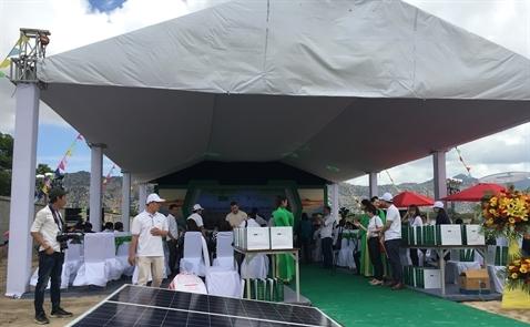 Conergy xây dựng trang trại năng lượng mặt trời đầu tiên tại Việt Nam