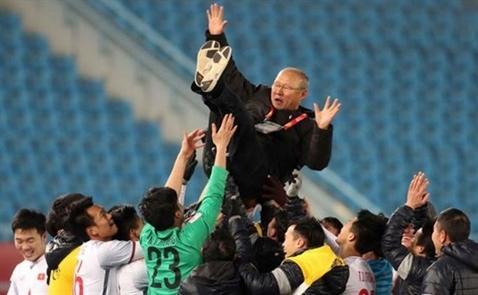 Phép mầu Park Hang-seo và vị thế mới của bóng đá Việt Nam