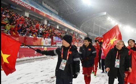 Doanh nghiệp địa ốc thưởng U23 Việt Nam hàng chục tỉ đồng