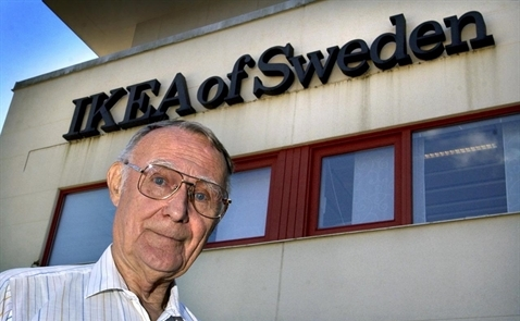 Ông chủ IKEA qua đời ở tuổi 91