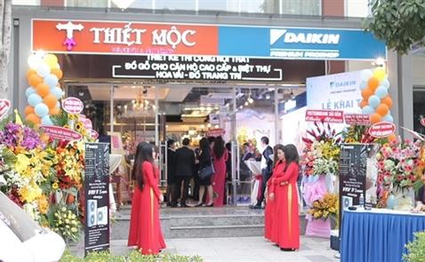 Thiết Mộc và Daikin khai trương showroom tại khu đô thị Sala