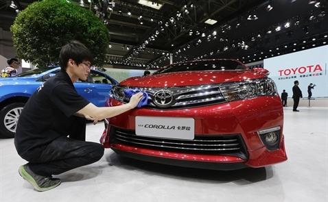 Doanh số của Toyota đứng thứ 3 thế giới