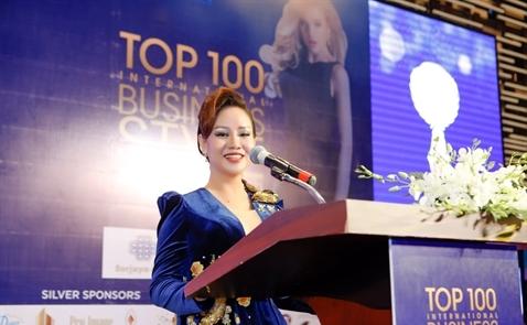 TGĐ Star Beach và Thái Dương Real nhận giải thưởng top 100 phong cách doanh nhân quốc tế 2018