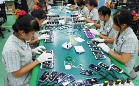 Đầu năm, xuất khẩu điện thoại và linh kiện tăng hơn 80%