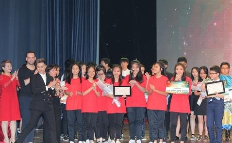 Trao giải Cuộc thi VAS's Got Talent 2017