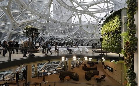 Khám phá văn phòng 4 tỷ USD của Amazon