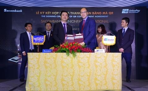 Sau Visa, Mastercard, đến lượt UnionPay đưa QR code về Việt Nam