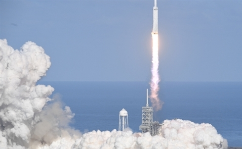 Tỷ phú Elon Musk phóng thử rocket lớn nhất