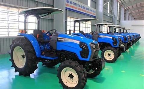 Ô tô Trường Hải muốn chiếm lĩnh thị trường máy nông nghiệp
