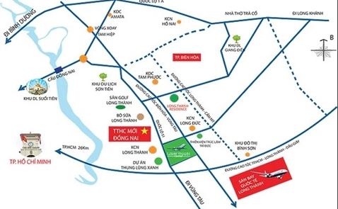 Đồng Nai thu hồi 5.000ha đất cho sân bay Long Thành