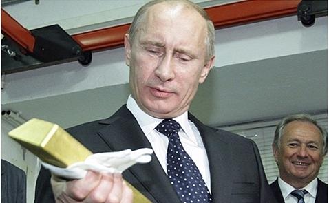 Nga nắm giữ nhiều vàng hơn Trung Quốc
