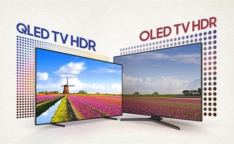 Thị trường TV năm 2018: Sôi động cuộc chiến OLED - QLED