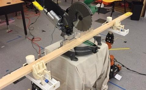 MIT chế tạo robot thợ mộc có thể đóng đồ gỗ từ bản vẽ thiết kế