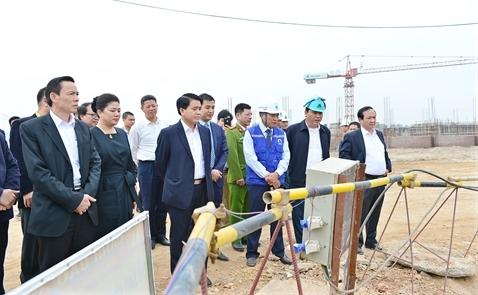 Nhà máy nước mặt sông Đuống dự kiến khai thác vào tháng 10