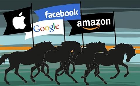 Amazon sẽ đạt mốc nghìn tỉ USD trước Apple, Google, Facebook?
