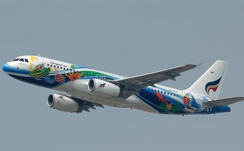 Hàng không Thái gia tăng các đường bay thẳng