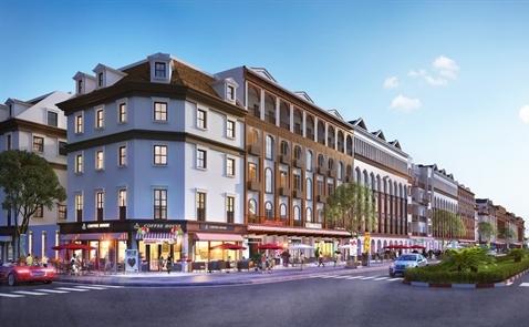 Sun Group ra mắt dòng shophouse kiến trúc châu Phi và châu Úc tại Hạ Long