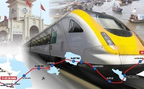 Cuối năm, triển khai dự án đường sắt cao tốc TP.HCM- Cần Thơ 5 tỉ USD
