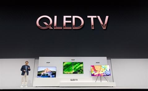Samsung ra mắt dòng TV QLED 4K 2018