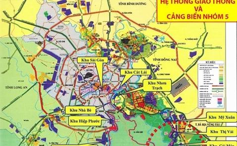 Di dời toàn bộ bến cảng trên sông Sài Gòn