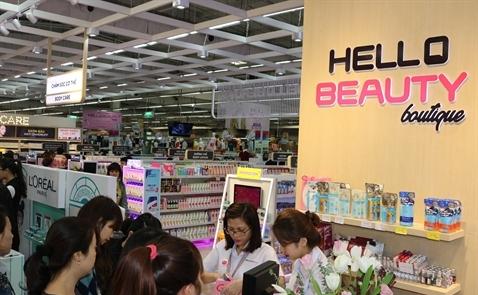 Central Group khai trương cửa hàng Hello Beauty đầu tiên