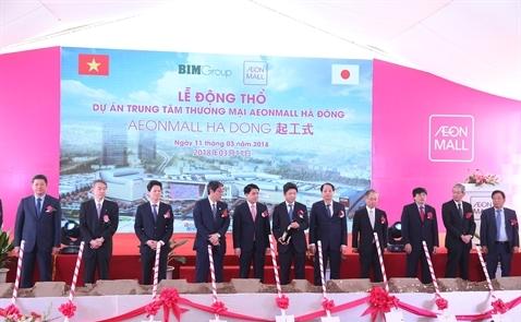 AEON xây dựng trung tâm thương mại thứ 5 tại Việt Nam