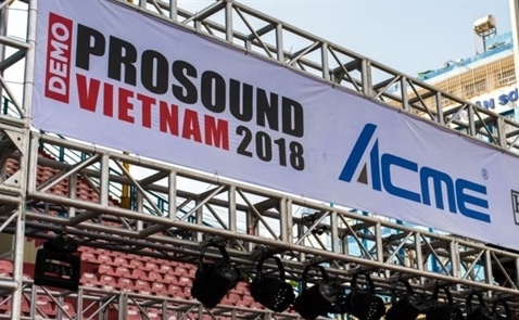 Demo Prosound Vietnam - Triển lãm âm thanh - ánh sáng lớn nhất Việt Nam