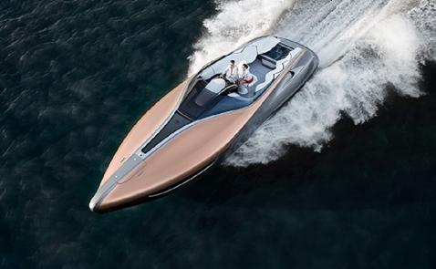"""Lexus Sport Yacht đạt giải """"Chiếc du thuyền của năm"""