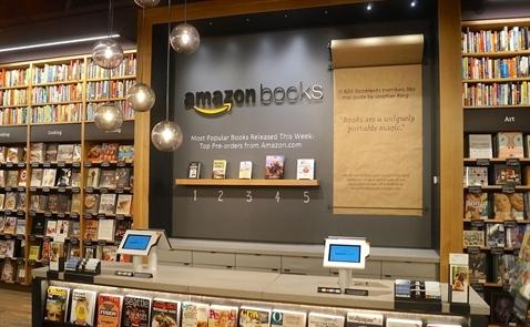 Phía sau chiến lược mở hiệu sách truyền thống của Amazon