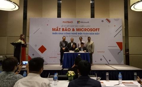 Mắt Bão trở thành CSP cấp 1 của Microsoft Việt Nam